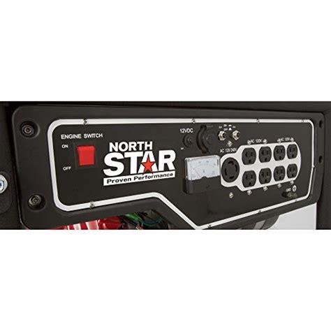 northstar portable generator  surge watts