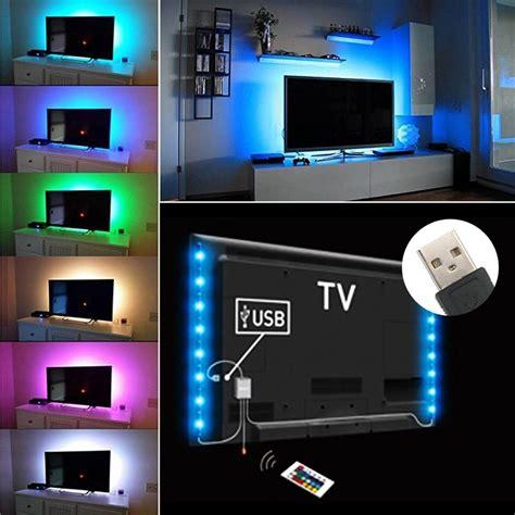 Led Light Strips For Tv Led Tv Backlight Mood Light Multi Colour Rgb