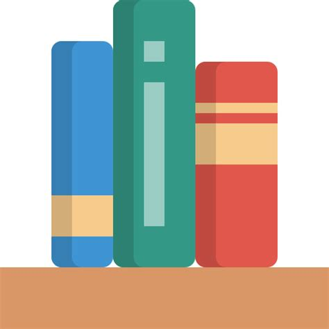 Book Shelf Icon by Bookshelf Free Education Icons