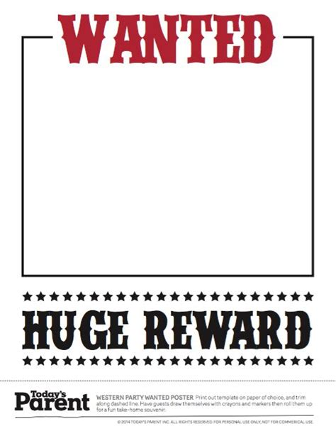 printable poster generator 18 free wanted poster templates fbi and old west free