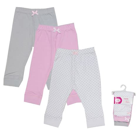 baby pant luvable friends pantalones 3 pieces baby trousers