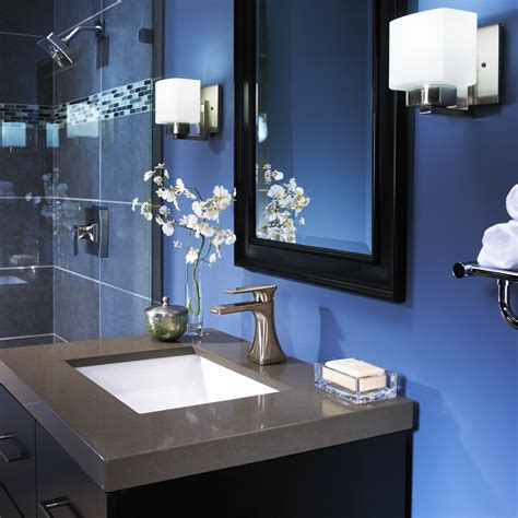 blue and gray bathroom ideas bright beautiful blue bathrooms furniture home design ideas