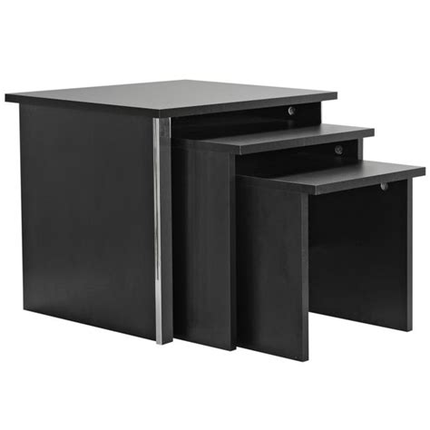 Coffee Tables Argos Buy Home San Marino Nest Of 3 Tables Black At Argos Co Uk Your Shop For Coffee Tables