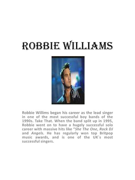 supreme robbie supreme robbie williams