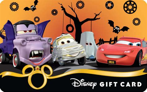 Disney Parks Gift Card - sneak peek at disney parks new halloween 2012 gift cards wdw parkhoppers walt