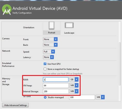 advanced settings android how to fix error haxm is not working and emulator runs in emulation mode for android emulator