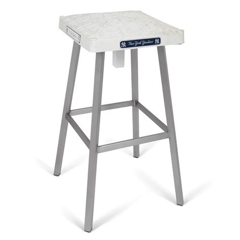 Baseball Base Bar Stools by The Used Base Bar Stool Hammacher Schlemmer