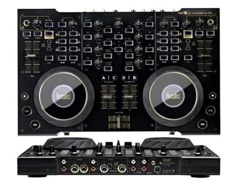 hercules dj console 4 mix hercules dj console 4mx black controller midi usb per dj