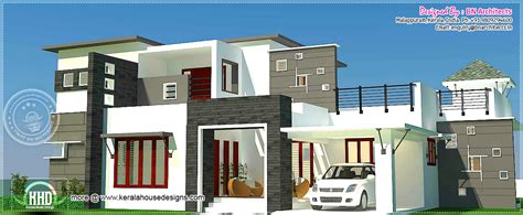 contemporary style house in 2300 square feet kerala home 3 bhk 2300 sq feet contemporary house exterior kerala