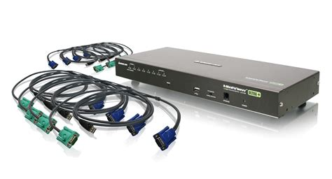 kvm switch 6 iogear gcs1808kitu 8 usb ps 2 combo vga kvm