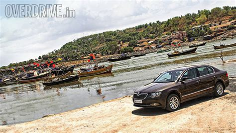 Comfortable Car For Distance Driving by Travelogue Driving To Alibaug In A Skoda Superb