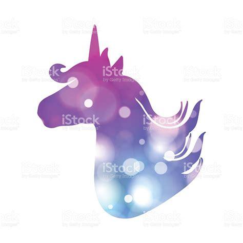 imagenes de unicornios brillantes colorful patch with unicorn silhouettebright colors