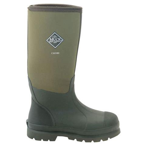 the muck boot company the muck boot company chore hi moss the original neoprene