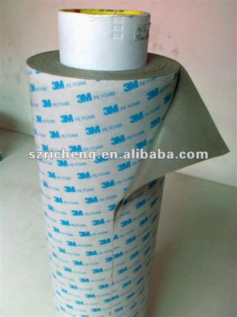 Busa 3m Asli Pe Foam 3m 1600tg pe foam adhesive gray color 1 0mm thickness china mainland packaging printing