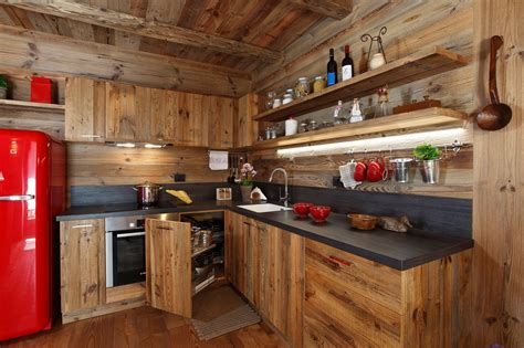 rivestire pareti con legno soggiorno moderno con parete attrezzata in ciliegio