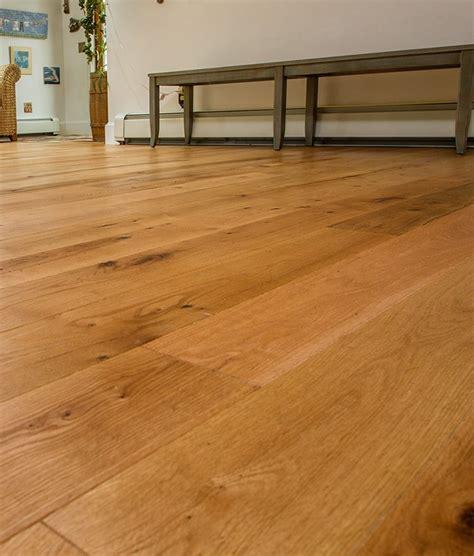 prefinished oak hardwood rubio finish