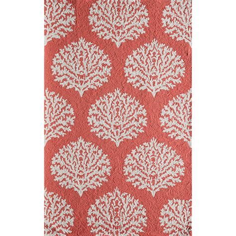 coral indoor outdoor rug rug