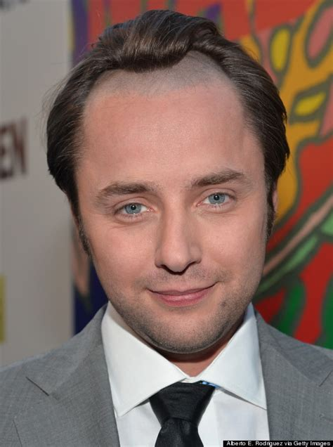 Shaves Now The Carpet Really Does Match The Drapes by Vincent Kartheiser S Hairline For Mad Is