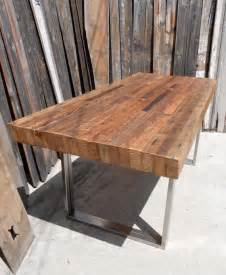 Reclaimed wood dining table on pinterest dining tables oak dining