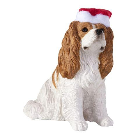 cavalier king charles spaniel christmas ornament sitting