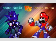 Mecha Sonic vs Mecha Mario - YouTube Mecha Mario Vs Metal Sonic