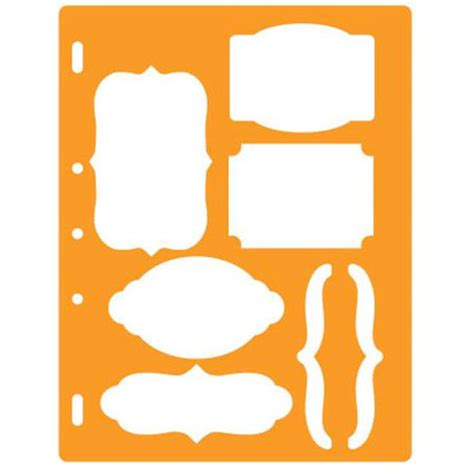 fiskars shape template bracket and journal
