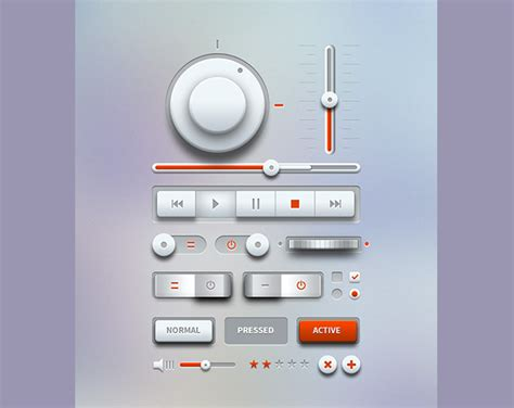 ui controller pattern 24 free ui kit psds for your next website design project