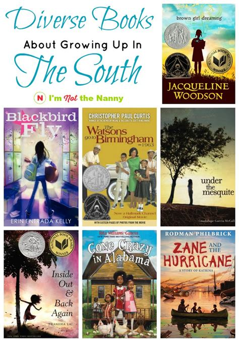 picture books about growing up diverse chapter books about growing up in the south