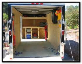 utility trailer shelving 17 best images about my trailer on cargo