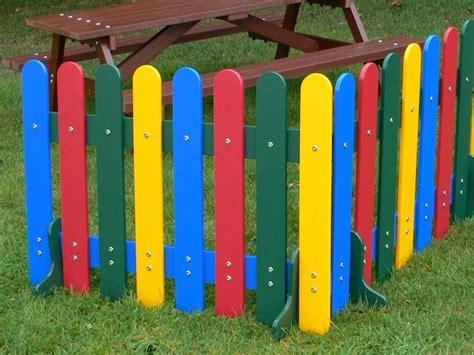 Round Picnic Benches Kedel Rainbow Fence Education