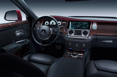 rolls royce ghost red interior 2015 rolls royce ghost series ii first look motor trend