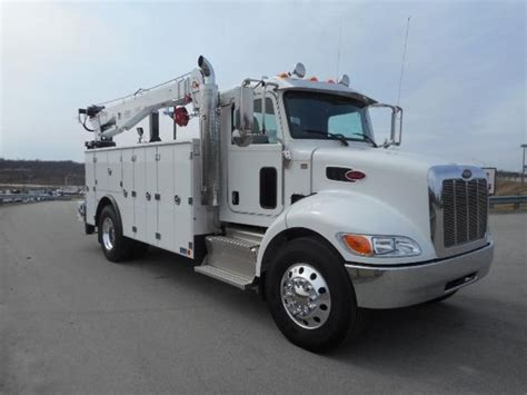 electric truck for sale new 2018 peterbilt 337 service utility truck for sale