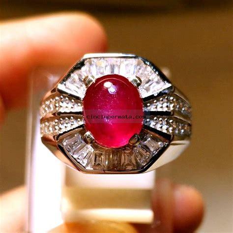 Batu Permata Ruby Africa 39 1 Carats batu permata pigeon blood ruby elegance cincinpermata jual batu permata batu mulia asli