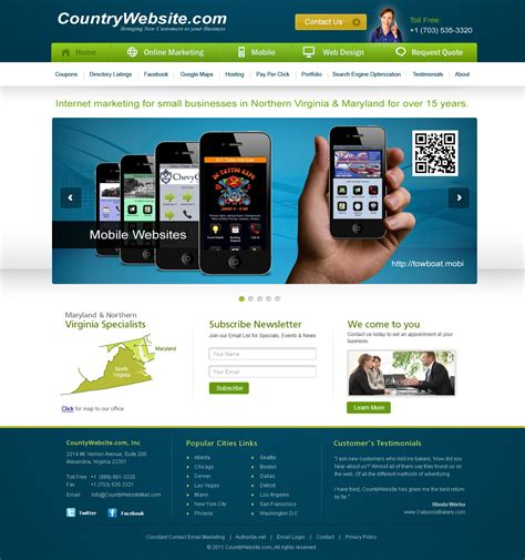best home websites image gallery website homepage
