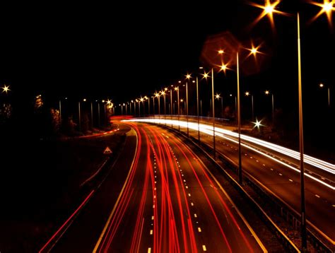 Motorway Lights By Darren Beale Digital Photographer Photos With Lights