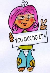 you can do it clipart journaling let me out