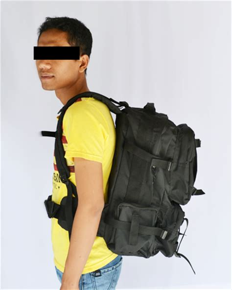Tas Ransel Lebanon Htm Besar jual tas ransel laptop lebanon hitam besar tas resak tas army tas tentara tas lebanon tas