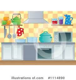 How To Use A Toaster Oven Kitchen Clipart 1114890 Illustration By Visekart
