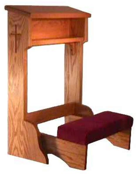 prayer bench for home deacon needs to kneel