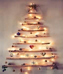 los arboles de navidad rusticos para un adorno moderno