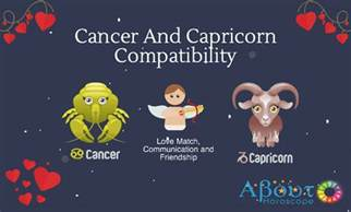 cancer and capricorn compatibility love friendship