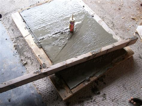 Diy Concrete Countertop Forms by Diy Concrete Countertop Building The Form To The