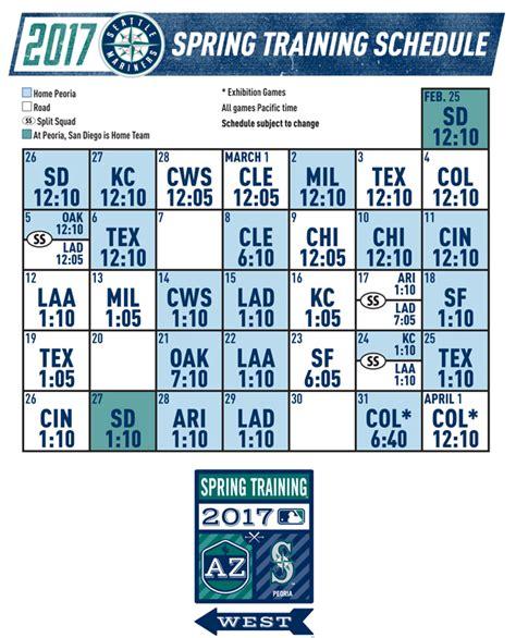 image gallery mariners schedule 2013