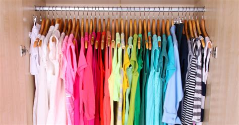 How To Organize Your Closet By Color by 10 Affordable Ways To Organize Your Closet Like A Pro