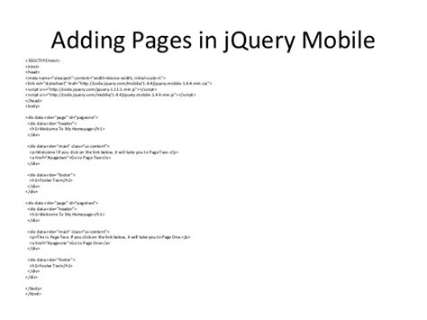 tutorial jquery mobile phonegap advanced jquery mobile tutorial with phonegap