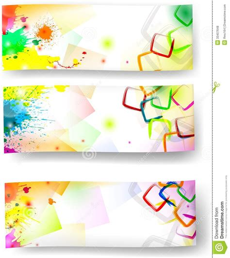 Best Resume Colors by Artistic Banners Stock Vector Illustration Of Sales