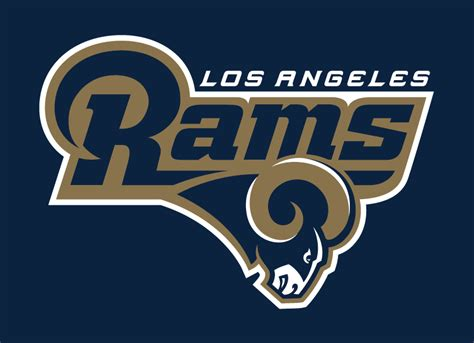 Kaos Sport Football Los Angeles Rams Alternate Logo 2 2016 Pres 1 los angeles rams 2016 pres alternate logo diy iron on