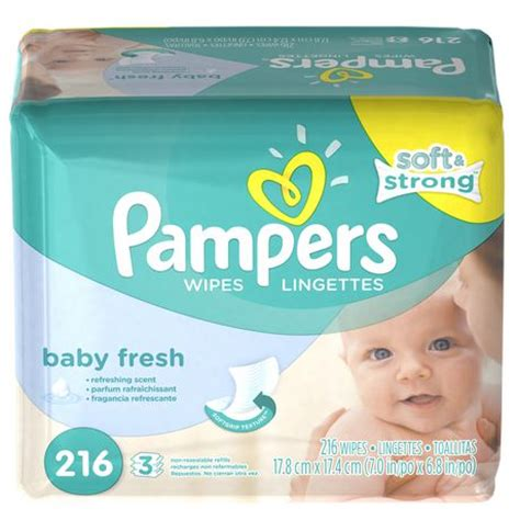 Baby And Wipes 60pcs 3pack pers baby wipes baby fresh 3x pack walmart canada