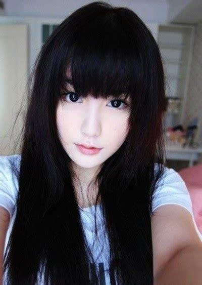 fabulous long hairstyles  bangs  layers pretty