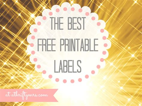Kitchen Cabinet Discounts free printable labels a thrifty mrs
